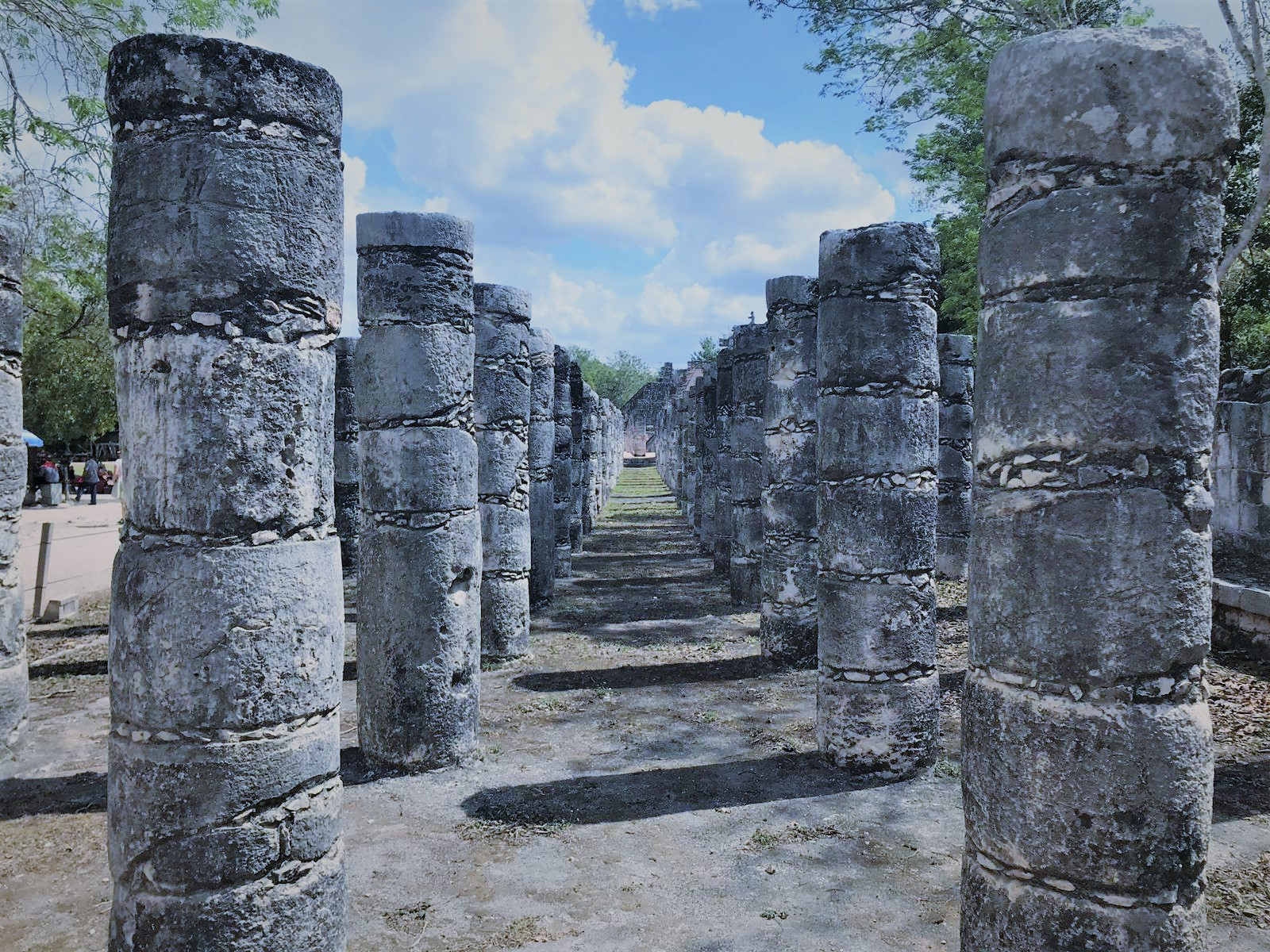 Säulen bearbeitet
