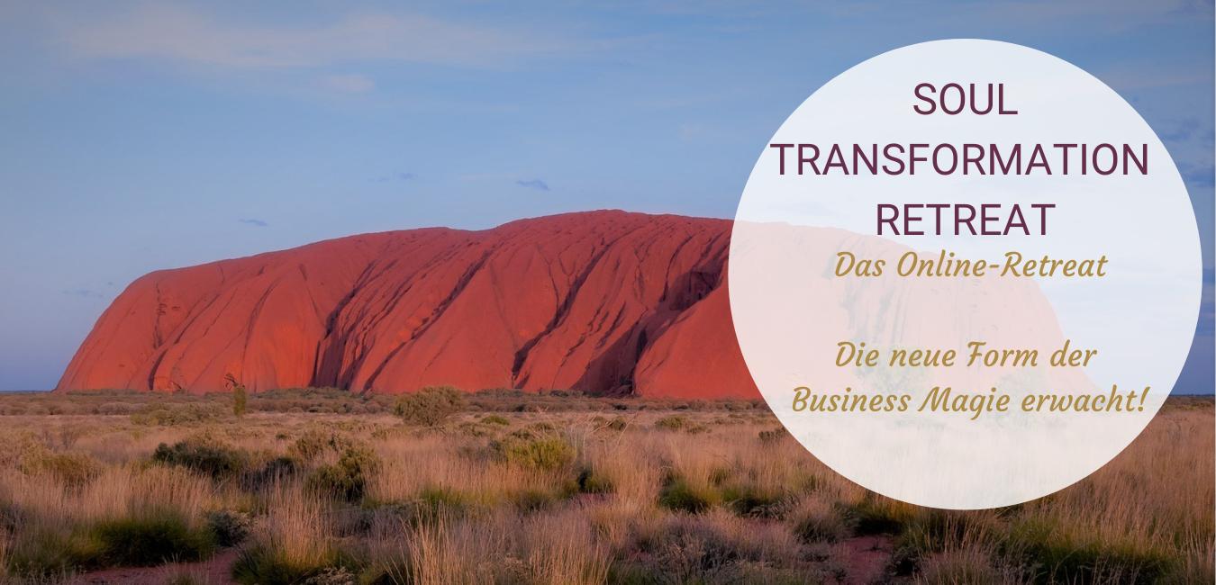 Soul Transformation Retreat Website Header Bild